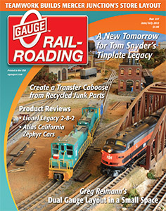 O Gauge Railroading magazine