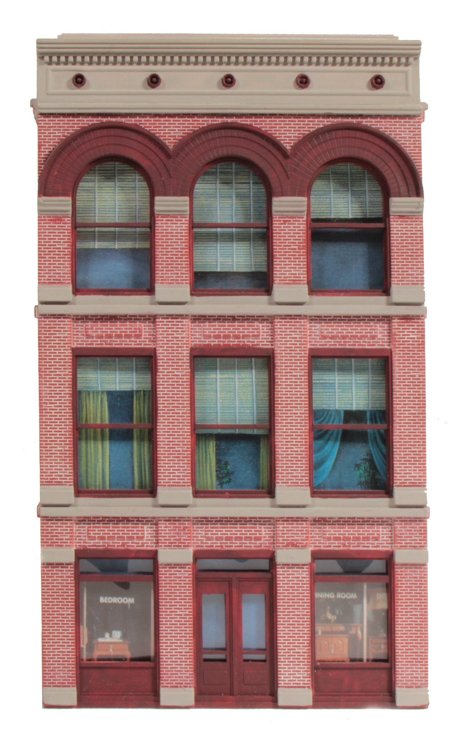 burke building front only o gauge railroading magazine